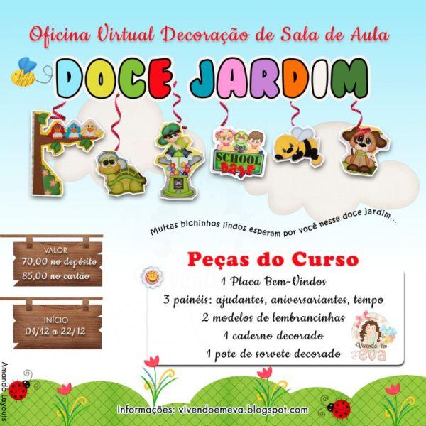Kit Decoracao Sala De Aula ~ decoracao sala de aula jardim encantadoCURSO DECORAÇÃO DE SALA DE